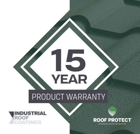 15 Year Roof Paint Warranty