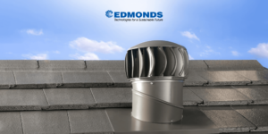 Roof tiles with roof ventilator