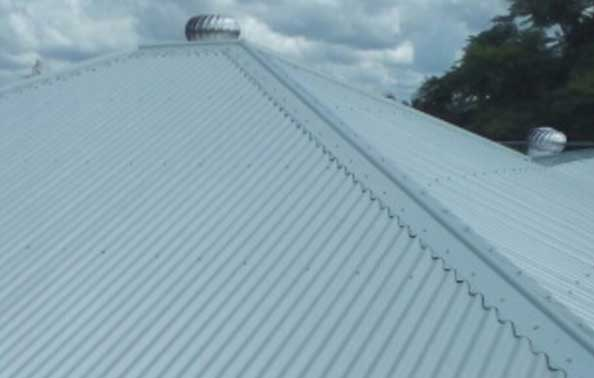 Metal Roofing After